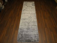 Romany Washables Runner/Mats 60x220cm Aproxx 7ft6 Sparkle Grey/Silver Non Slip